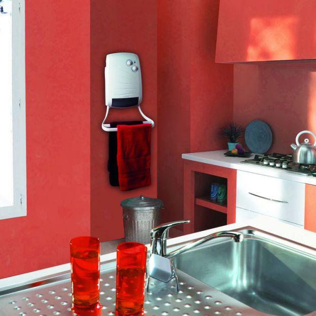 Grzejnik do kuchni i łazienki. Praktyczny model z dmuchawą