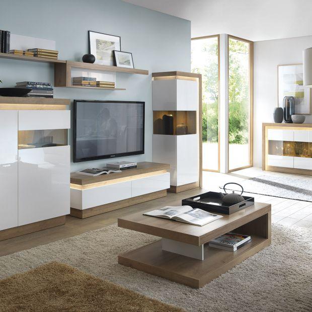 Meble do salonu - kolekcje idealne do małego wnętrza