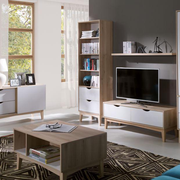 Meble do salonu - zobacz kolekcje idealne do małego wnętrza
