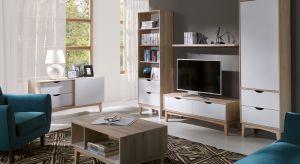 Mały salon jest przytulny i ma swój urok. Dzięki odpowiednio dopasowanym meblom, może być również funkcjonalny.