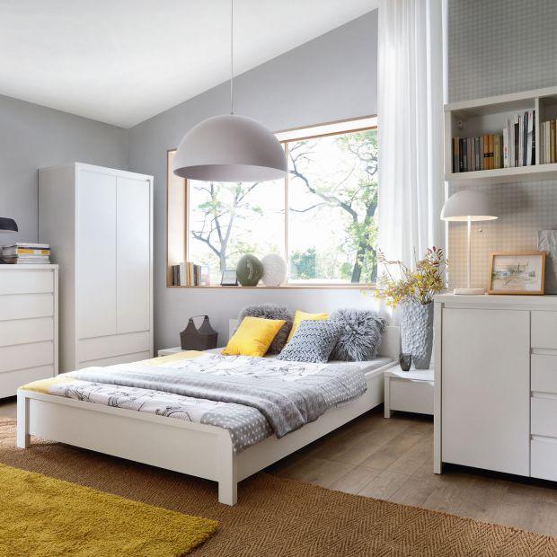 Meble do sypialni - zobacz piękne kolekcje w bieli