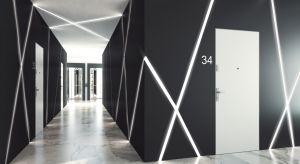Gradara DISCRET VERTE to drzwi pozbawione opasek i widocznych ościeżnic od strony klatki schodowej. Produkt zgłoszony do konkursu Dobry Design 2018.
