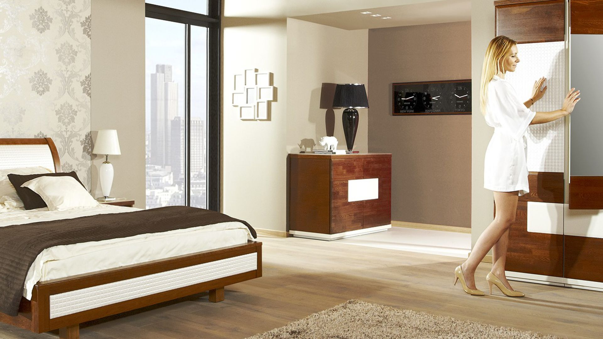Sypialnia Verano. Fot. Mebin