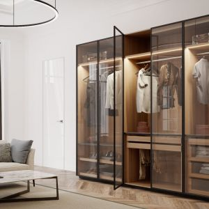 Garderoba Brerra/Anegre. Produkt zgłoszony do konkursu Dobry Design 2018.
