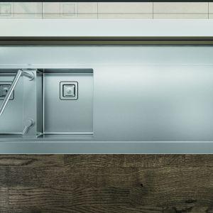Zlewozmywak Artinox Ghost 160/Anegre. Produkt zgłoszony do konkursu Dobry Design 2018.