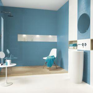 Nowoczesne płytki do łazienki. Kolekcja Irvan. fot. Ceramika Paradyż