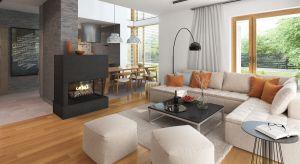 Pompejusz to 140-metrowy dom jednorodzinny piętrowy, przeznaczony dla 4-6-osobowej rodziny. Elegancka bryła kryje w sobie funkcjonalne wnętrze.