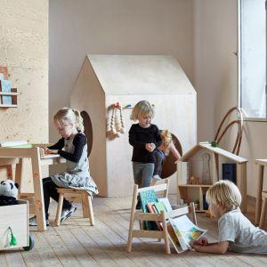 Seria mebli dziecięcych IKEA Flisat wykonana w 100% z drewna. Fot. IKEA