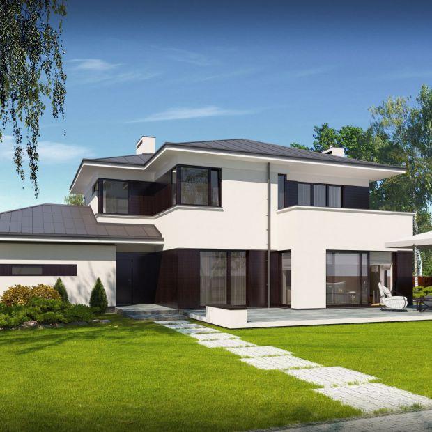 Nowoczesny dom piętrowy: zobacz projekt i wnętrze