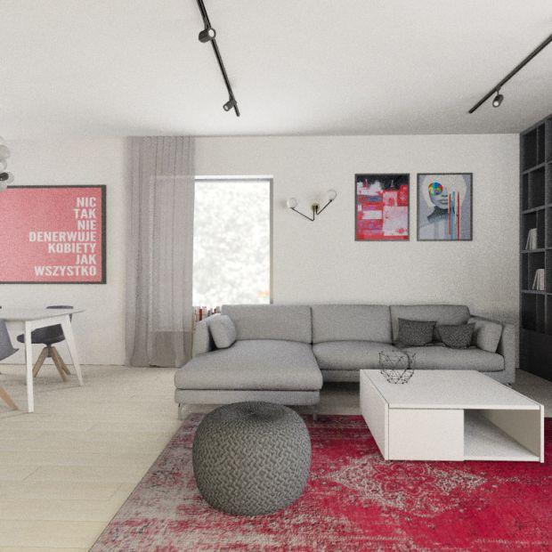 Projekt domu dla rodziny - pomysł na modne wnętrze