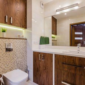 Przytulne mieszkanie dla dwojga. Projekt: Joanna Zawicka