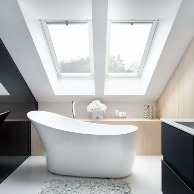 Elegancki salon kąpielowy - gotowy projekt wnętrza