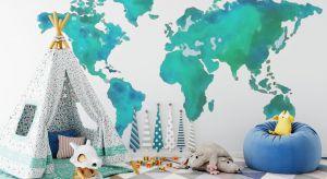 Kolor turkusowy we wnętrzu inspiruje do działania oraz wpływa na spostrzegawczość i dobre samopoczucie. To doskonały dodatek do aranżacji pokoju dziecięcego.