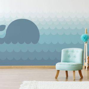 Fototapeta lateksowa Blue Whale. Fot. Fototapeta4u.pl