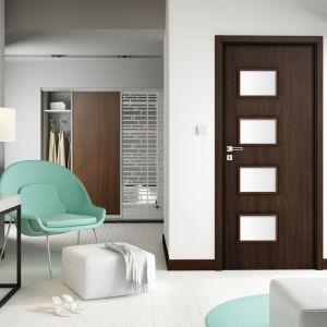 Orso to drzwi zarówno dla tych, którzy cenią sobie intymność i szukają eleganckich skrzydeł do gabinetu czy sypialni. Cena od 269 zł netto. Fot. Invado