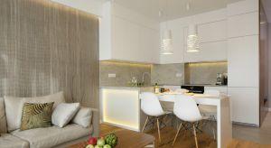 Elegancka kuchnia ma charakter reprezentacyjny. Pięknie wygląda i dobrze się prezentuje z salonu.Zobaczcie 10 pomysłów na jej urządzenie.