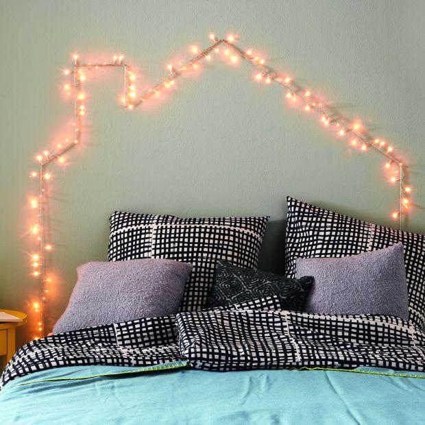 Zobacz, jak stworzyć oryginalne oświetlenie do sypialni
