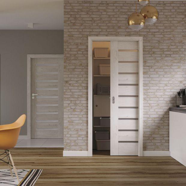 Drzwi wewnętrzne, które optycznie powiększą mieszkanie