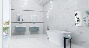 Szarość łączy w sobie elegancję, nowoczesność i uniwersalność. To obecnie jeden z najmodniejszych kolorów również w łazience. W naszej galerii zobaczycie jednak, że szary ma równe wzory i odcienie - i wcale nie jest nudny.