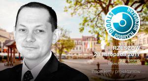Maciej Łobos - architekt IARP, prezes i współwłaściciel rzeszowskiej pracowni MWM Architekci będzie gościem specjalnym Studia Dobrych Rozwiązań w Rzeszowie 28.11.2018 r.
