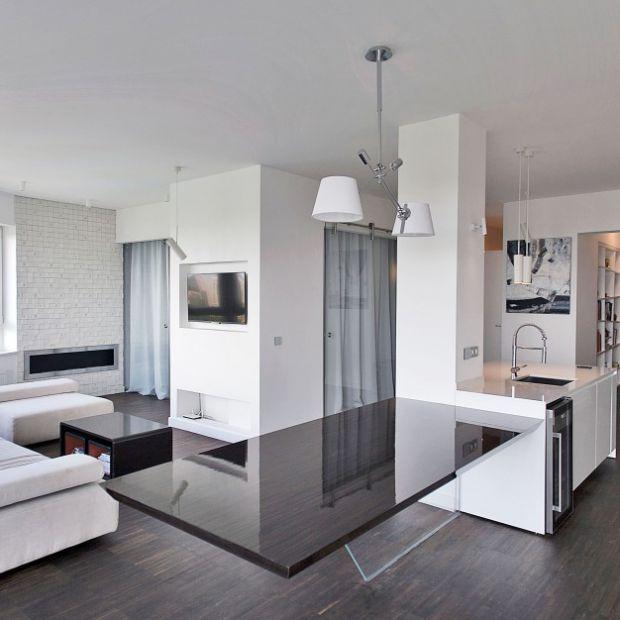 Elegancki penthouse w Łodzi - gotowy projekt