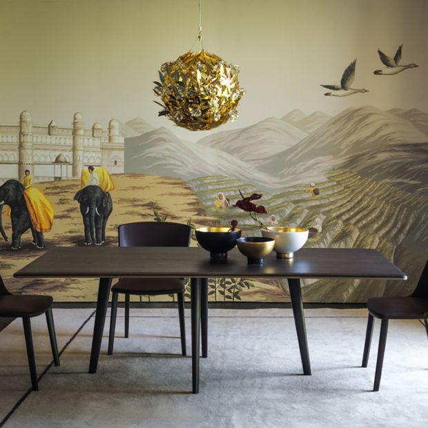 Modne wnętrze: zobacz ręcznie malowane jedwabne tapety