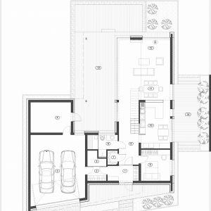 Rzut parteru. Fot. Beczak/Beczak/Architektci