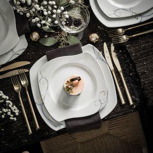 Aranżacja stołu: serwis Victoria. Fot. Fyrklӧvern