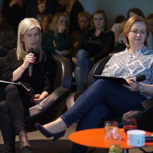 Ewa Kozioł, Dobrze Mieszkaj. V Forum Dobrego Designu: Barwny dom. Top kolory 2018 roku. Fot. Tomasz Wawer.