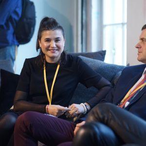 Izabela Żak. V Forum Dobrego Designu: Barwny dom. Top kolory 2018 roku. Fot. Tomasz Wawer.