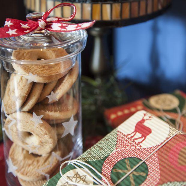 Świąteczny słoik na ciasteczka - zrób to sam