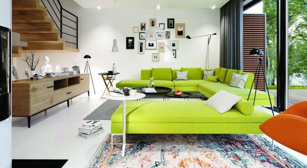 Piękny dom z przeszkleniami: zobacz projekt i wnętrza