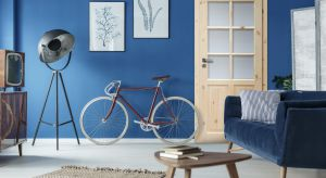 Jednym z ciekawych pomysłów na aranżację domowych pomieszczeń jest łączenie kontrastujących ze sobą mocniejszych i spokojnych barw zarówno ścian, jak i sprzętów domowych.