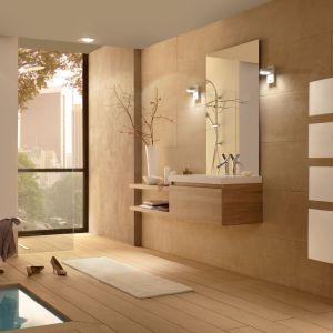 Sensium white to elektryczny grzejnik z systemem jednoczesnego suszenia ręczników i ogrzewania pomieszczenia. Fot.  Atlantic