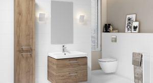 Są połączenia, które nigdy nie zawodzą, zestawienia, które zawsze wyglądają doskonale. Wzór drewna i biel uzupełniają się nawzajem i pozwalają urządzić łazienkę pełną harmonii i spokoju.