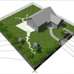 Planujemy ogród. Rys. Buszrem
