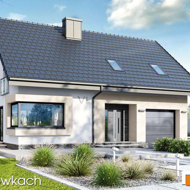 Mały dom o komfortowym wnętrzu. Zobacz projekt i aranżację