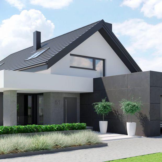 Nowoczesny dom w eleganckim wydaniu. Zobacz projekt i wnętrza