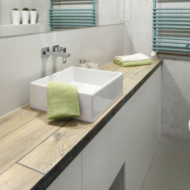 Najciekawsze pomysły na blat w łazience