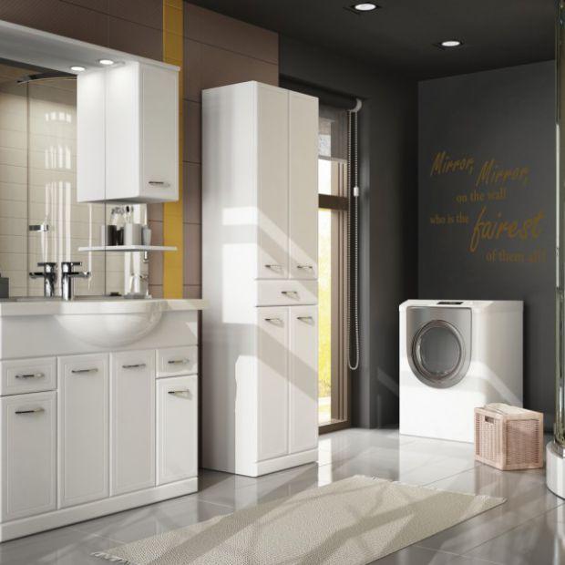 Zobacz, jak urządzić łazienke z pralką