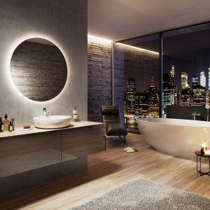 Nastrojowa łazienka: bateria umywalkowa Dijon. Fot. Ferro