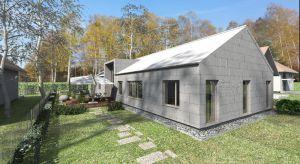 Dom zaprojektowano na bardzo wąską działkę z wjazdem od strony zachodniej. Powierzchnia użytkowa 140 mkw pozwoli na wygodne funkcjonowanie całej rodzinie.