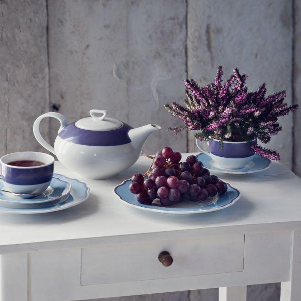 Piękna porcelana - inspiracje w barwach Ultra Violet