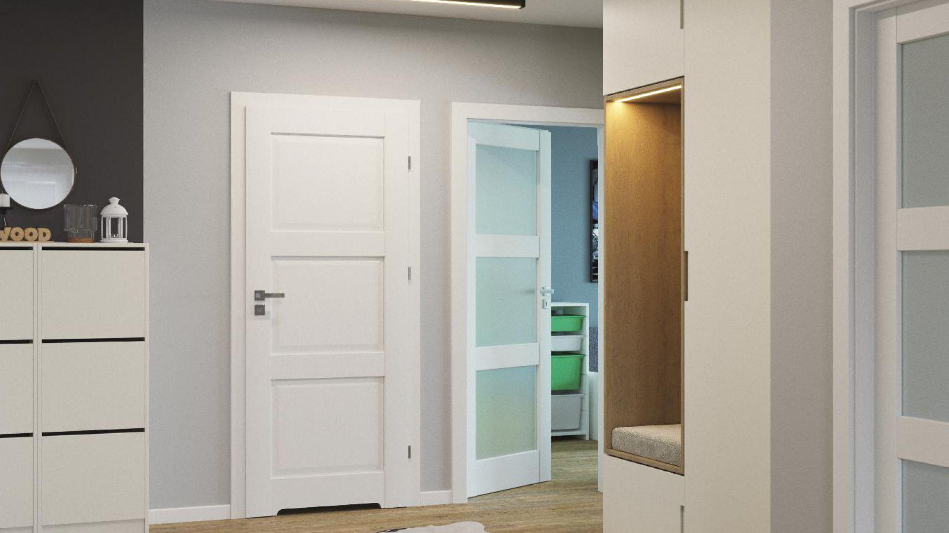 Proste rozwiązania nie przestają zachwycać swoim pięknem i uniwersalnością, dlatego też kolekcja Porta Balance została wzbogacona o 4 nowe modele drzwi. Fot. Porta