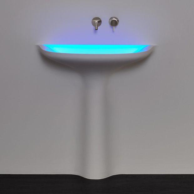 Nowoczesna łazienka: zobacz designerską umywalkę