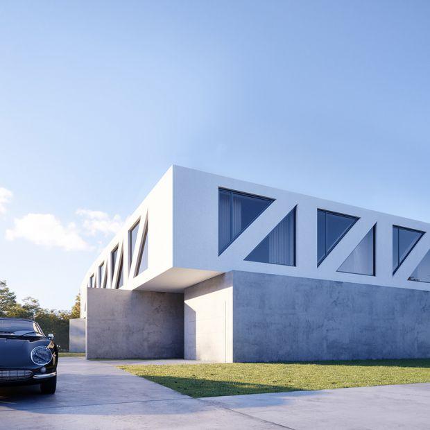 Zobacz nowoczesny projekt domu piętrowego