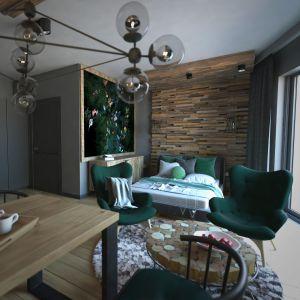 Niewielkie mieszkanie tworzy otwarta przestrzeń. Projekt: Beata Wołkowska, VIVINO Studio