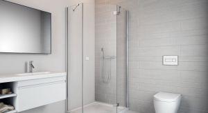 Niewielki metraż i nieustawność pomieszczenia – to sytuacja aranżacyjna, z którą bardzo często muszą zmierzyć się właściciele łazienek. Wyzwaniem staje się również dobór właściwej kabiny prysznicowej.