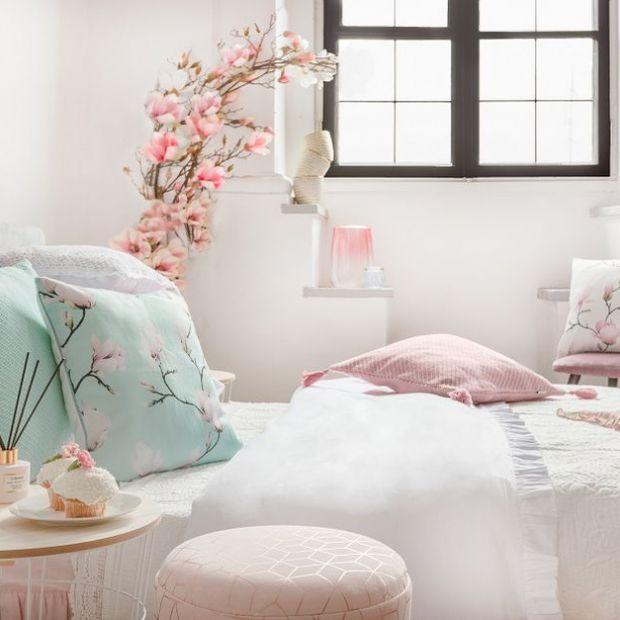 Meble i dodatki - nowa kolekcja z motywem magnolii