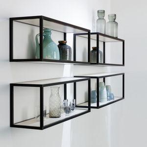 Smartcube to wyjątkowo atrakcyjny wizualnie system półek o eleganckiej, geometrycznej linii. Fot. Peka